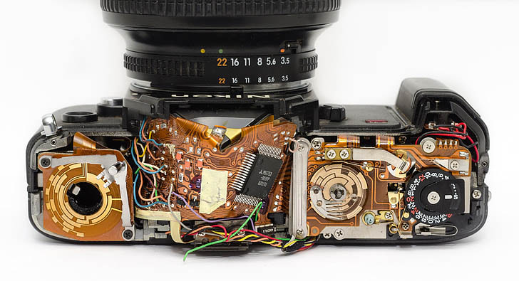 Camera Repair, Servicing & Maintenance Shop