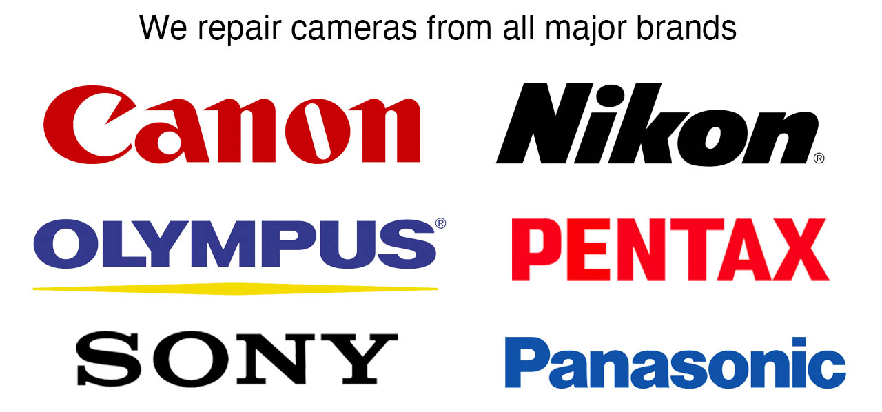Camera brands we repair